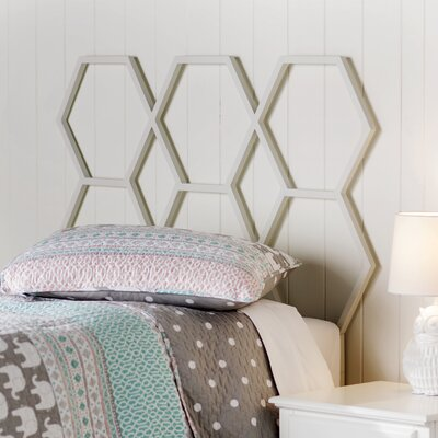 Culford Twin Open-Frame Headboard Finish: White