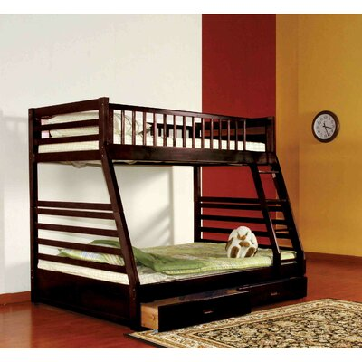 Billy Twin over Full Bunk Bed with Storage