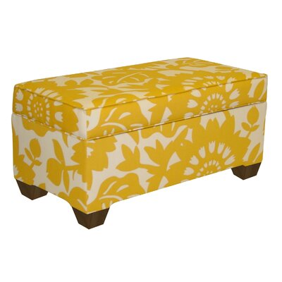 Vince Zig Zag Storage Ottoman Color: Gerber Sungold VVRO1540 29980684
