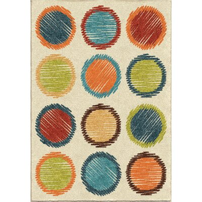 Jerry Area Rug Rug Size: 52 x 76
