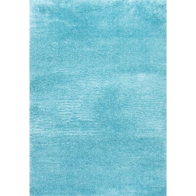 Jordi Baby Blue Area Rug Rug Size: Rectangle 710 x 10