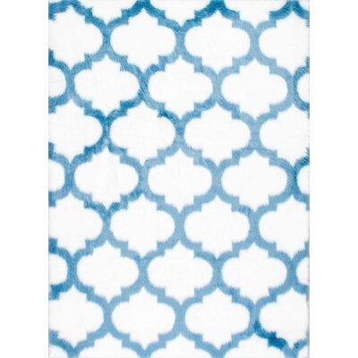 Kim Blue Area Rug Rug Size: 5 x 8