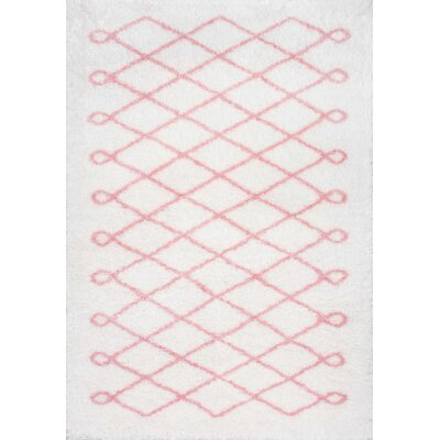 Lane Baby Pink Area Rug Rug Size: Rectangle 53 x 76