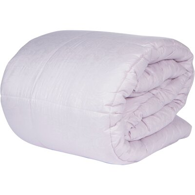 Microfiber Down Alternative Comforter Color: Lilac, Size: Full/Queen