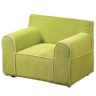 Youth Armchair Upholstery: Green