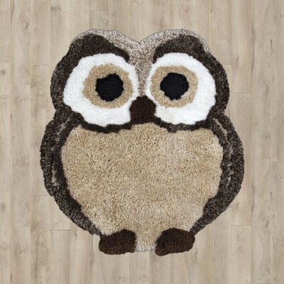 Reeve Hand-Tufted Brown Area Rug