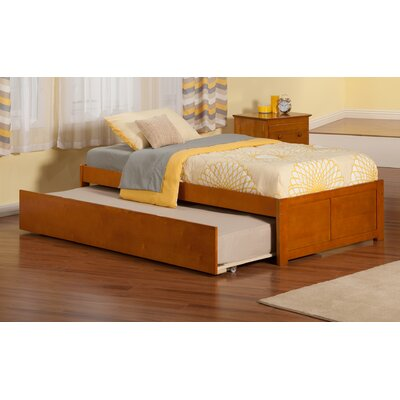 Concord Platform 2 Piece Bedroom Set Finish: Caramel Latte