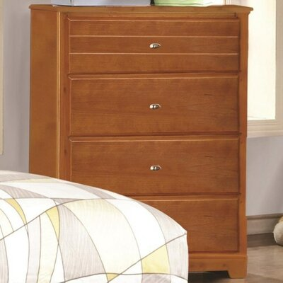 Skylar 4 Drawer Chest Color: Honey