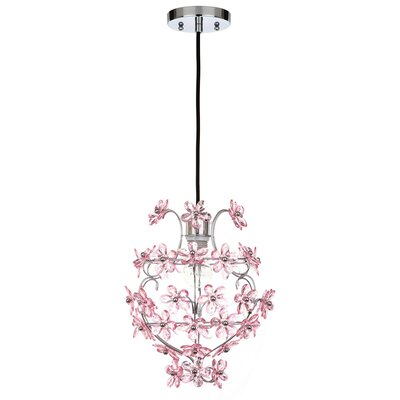 Tennille Floral 1-Light Foyer Pendant