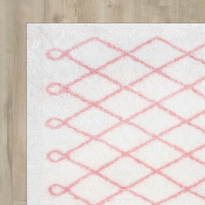 Lane Baby Pink Area Rug Rug Size: Rectangle 4 x 6