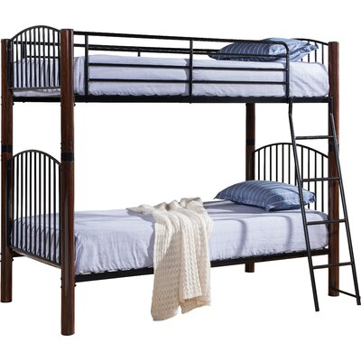 Zachery Twin over Twin Bunk Bed