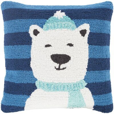 Polar Bear Winter Pillow Cover