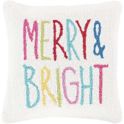 Donati Merry & Bright Winter Throw Pillow