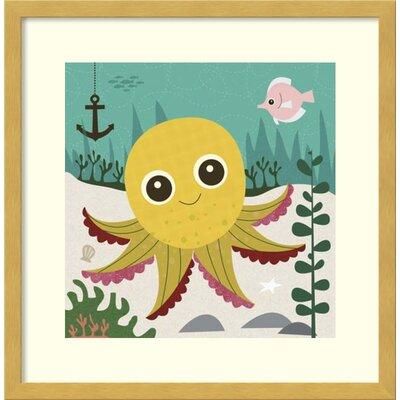 Olga Octopus Framed Art VVRO4073 31616000