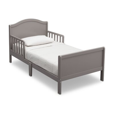 Lamar Convertible Toddler Bed Color: Grey