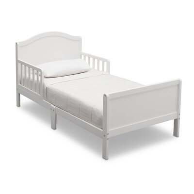 Lamar Convertible Toddler Bed Color: Bianca