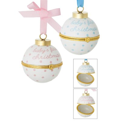 Baby's First Christmas Time Capsule Ornament VVRO4138 31637973