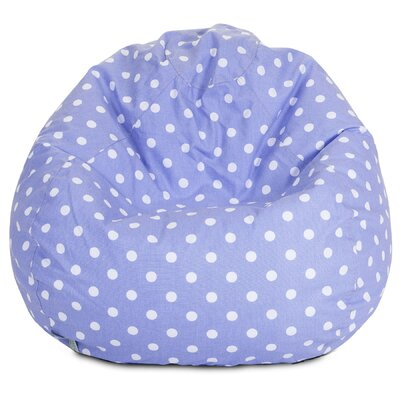 Telly Polka Dots Bean Bag Chair Upholstery: Lavenders