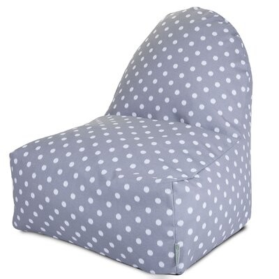 Telly Bean Bag Lounger Upholstery: Gray