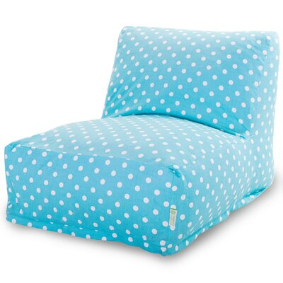Telly Bean Bag Lounger Upholstery: Aquamarine