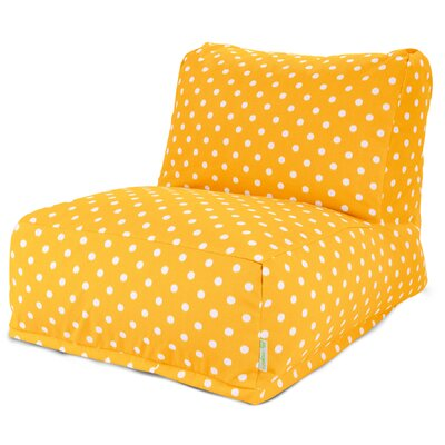 Telly Bean Bag Lounger Upholstery: Citrus