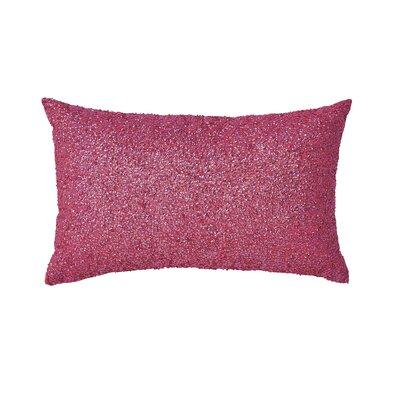 JoBe Lumbar Pillow Color: Pink