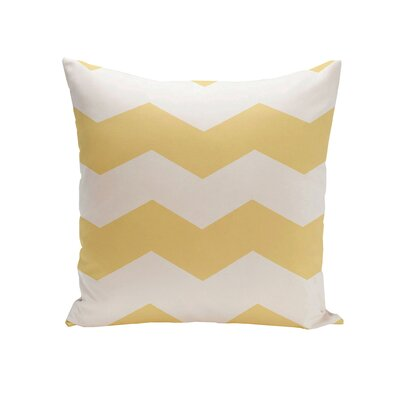 Milo Throw Pillow Color: Lemon, Size: 20 H x 20 W