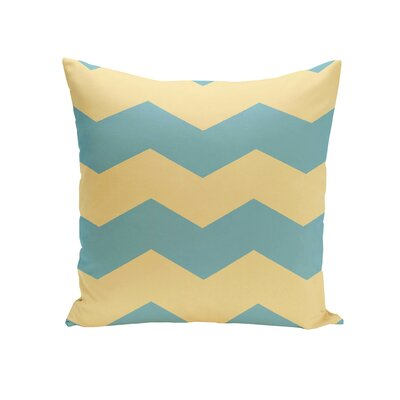 Milo Throw Pillow Size: 16 H x 16 W, Color: Bahama / Lemon