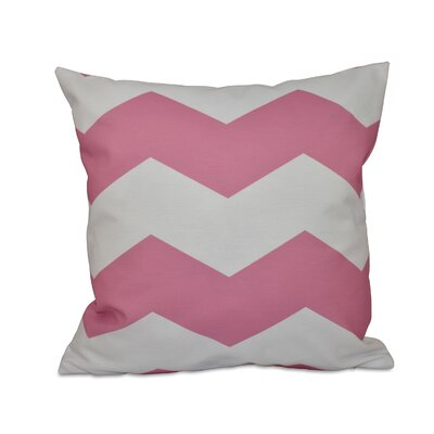 Milo Throw Pillow Size: 26 H x 26 W, Color: Petal