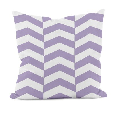 Milo Down Throw Pillow Size: 20 H x 20 W, Color: Lilac Purple
