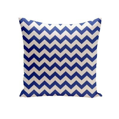 Milo Decorative Outdoor Pillow Color: Dazzling Blue, Size: 16 H x 16 W x 1 D