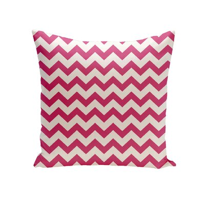 Milo Decorative Outdoor Pillow Color: Fushia, Size: 16 H x 16 W x 1 D