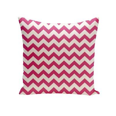 Milo Decorative Outdoor Pillow Color: Fushia, Size: 20 H x 20 W x 1 D