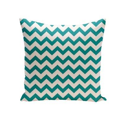 Milo Decorative Outdoor Pillow Size: 20 H x 20 W x 1 D, Color: Lake Blue