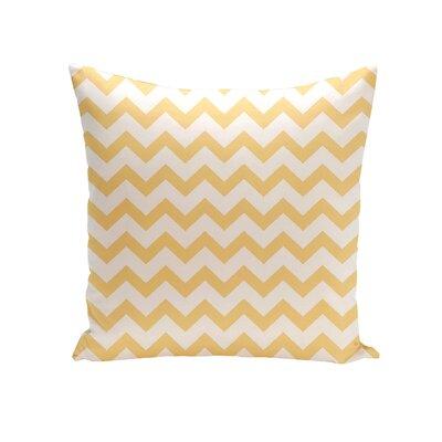 Milo Decorative Outdoor Pillow Color: Yellow, Size: 16 H x 16 W x 1 D