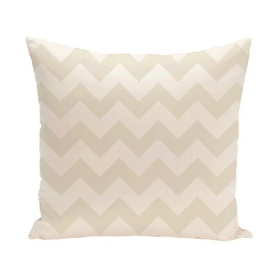 Milo Throw Pillow Size: 16 H x 16 W, Color: Ivory / Cream