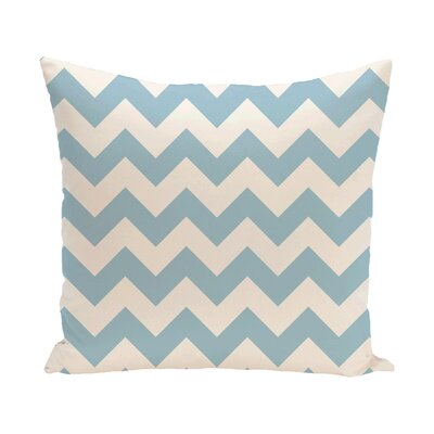 Milo Throw Pillow Color: Light Blue, Size: 18 H x 18 W