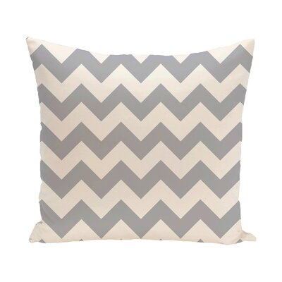 Milo Throw Pillow Size: 18 H x 18 W, Color: Light Gray