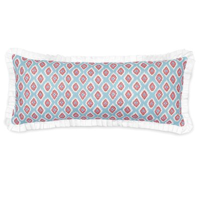 Lincoln Printed Ikat Lumbar Pillow
