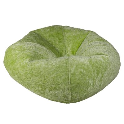 Solid Bean Bag Chair Upholstery: Lime Chennile