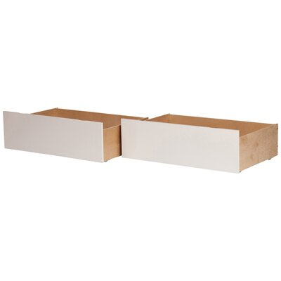 Miranda Bed Drawers Finish: White