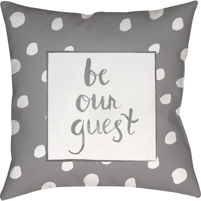 Gianna Indoor/OutdoorThrow Pillow Size: 20 H x 20 W x 4 D, Color: Gray
