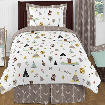 Tripp 4 Piece Bedding Set
