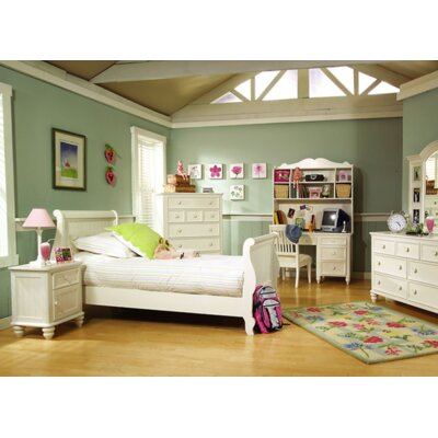 Kirsten Sleigh Bed Size: Twin