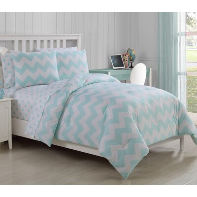 Lottie 5 Piece Twin Bed in a Bag Set