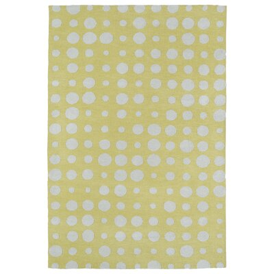 Marco Yellow Area Rug Rug Size: Rectangle 5 x 7