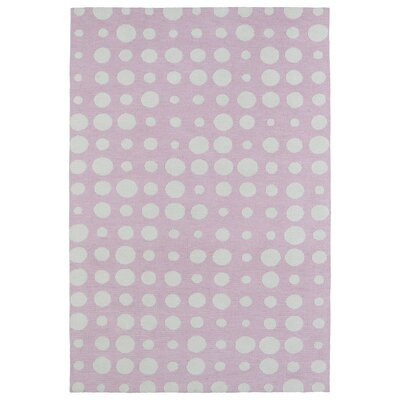 Marco Pink Area Rug Rug Size: Rectangle 5 x 7