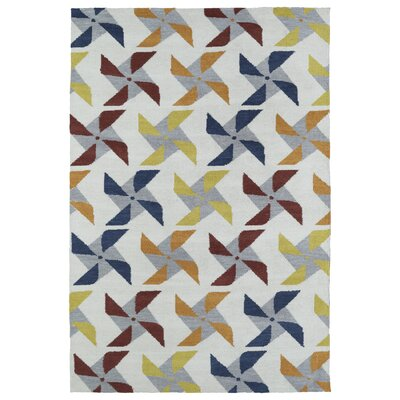 Margo Ivory Area Rug Rug Size: Rectangle 5 x 7