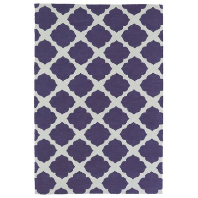 Marie Purple Area Rug Rug Size: Rectangle 8 x 10