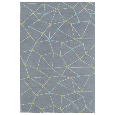 Marilyn Gray Area Rug Rug Size: 2 x 3
